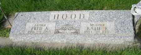 HOOD, FRED A. - Dawes County, Nebraska | FRED A. HOOD - Nebraska Gravestone Photos