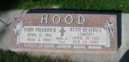 HOOD, RUTH BEATRICE - Dawes County, Nebraska | RUTH BEATRICE HOOD - Nebraska Gravestone Photos