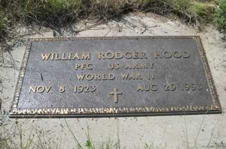 HOOD, WILLIAM RODGER - Dawes County, Nebraska   WILLIAM RODGER HOOD - Nebraska Gravestone Photos
