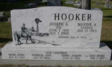 SANDOZ HOOKER, MAXINE A. - Dawes County, Nebraska | MAXINE A. SANDOZ HOOKER - Nebraska Gravestone Photos