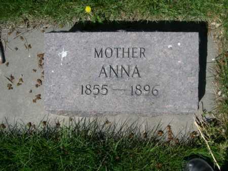 HOPF, ANNA - Dawes County, Nebraska | ANNA HOPF - Nebraska Gravestone Photos