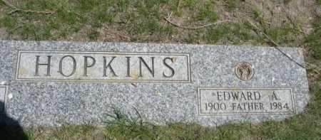 HOPKINS, EDWARD A. - Dawes County, Nebraska | EDWARD A. HOPKINS - Nebraska Gravestone Photos