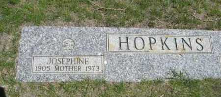 HOPKINS, JOSEPHINE - Dawes County, Nebraska | JOSEPHINE HOPKINS - Nebraska Gravestone Photos