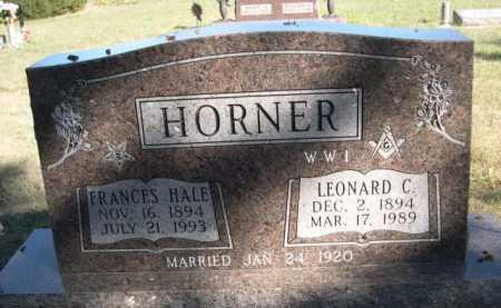 HORNER, LEONARD C. - Dawes County, Nebraska | LEONARD C. HORNER - Nebraska Gravestone Photos