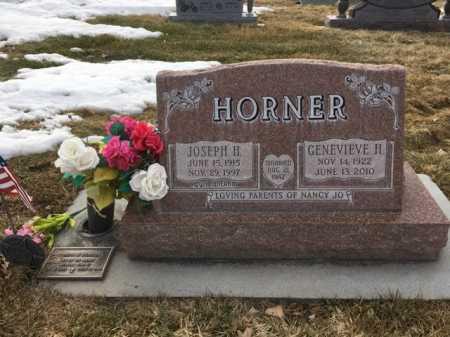 HORNER, GENEVIEVE H. - Dawes County, Nebraska | GENEVIEVE H. HORNER - Nebraska Gravestone Photos