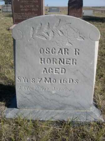 HORNER, OSCAR R. - Dawes County, Nebraska | OSCAR R. HORNER - Nebraska Gravestone Photos