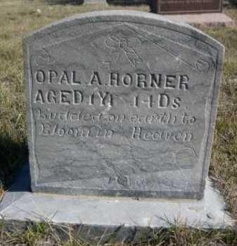 HORNER, OPAL A. - Dawes County, Nebraska | OPAL A. HORNER - Nebraska Gravestone Photos