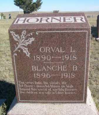 HORNER, BLANCHE B. - Dawes County, Nebraska | BLANCHE B. HORNER - Nebraska Gravestone Photos