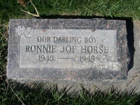 HORSE, RONNIE JOE - Dawes County, Nebraska | RONNIE JOE HORSE - Nebraska Gravestone Photos