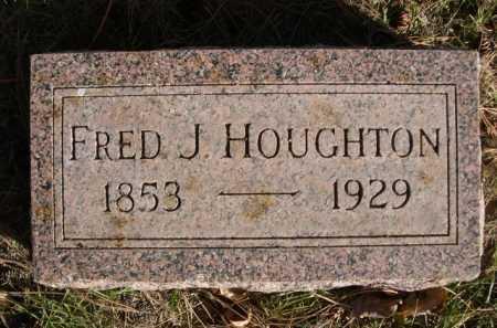 HOUGHTON, FRED J. - Dawes County, Nebraska | FRED J. HOUGHTON - Nebraska Gravestone Photos