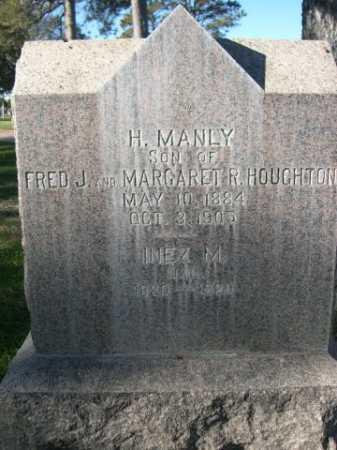 HOUGHTON, H. MANLY - Dawes County, Nebraska   H. MANLY HOUGHTON - Nebraska Gravestone Photos