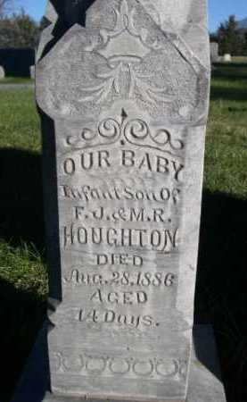HOUGHTON, INFANT SON OF F.J. & M.R. - Dawes County, Nebraska | INFANT SON OF F.J. & M.R. HOUGHTON - Nebraska Gravestone Photos