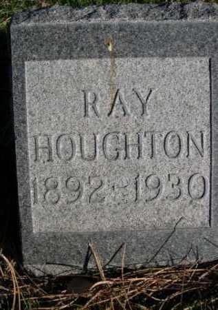 HOUGHTON, RAY - Dawes County, Nebraska | RAY HOUGHTON - Nebraska Gravestone Photos