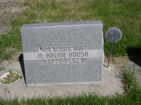 HOUSH, M. ARLINE - Dawes County, Nebraska | M. ARLINE HOUSH - Nebraska Gravestone Photos