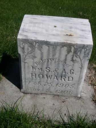 HOWARD, DONALD W. - Dawes County, Nebraska | DONALD W. HOWARD - Nebraska Gravestone Photos