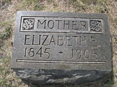 HOWARD, ELIZABETH E. - Dawes County, Nebraska | ELIZABETH E. HOWARD - Nebraska Gravestone Photos
