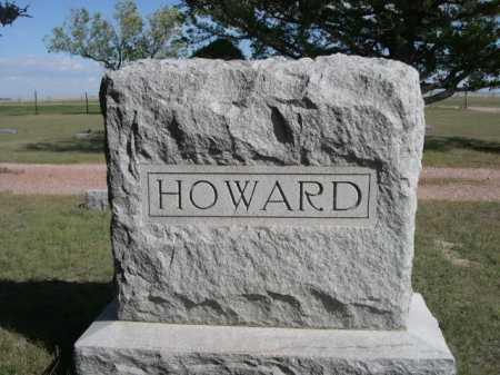 HOWARD, FAMILY - Dawes County, Nebraska   FAMILY HOWARD - Nebraska Gravestone Photos