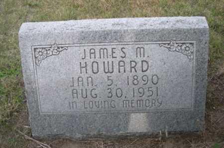 HOWARD, JAMES M. - Dawes County, Nebraska   JAMES M. HOWARD - Nebraska Gravestone Photos