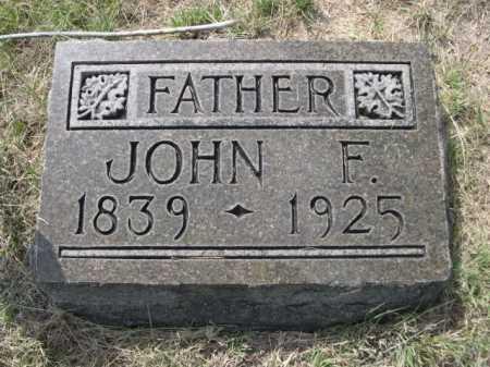HOWARD, JOHN F. - Dawes County, Nebraska | JOHN F. HOWARD - Nebraska Gravestone Photos
