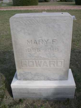 HOWARD, MARY F. - Dawes County, Nebraska   MARY F. HOWARD - Nebraska Gravestone Photos