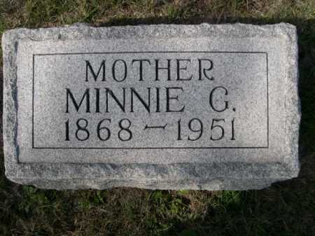 HOWARD, MINNIE G. - Dawes County, Nebraska | MINNIE G. HOWARD - Nebraska Gravestone Photos