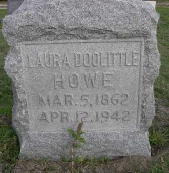 DOOLITTLE HOWE, LAURA - Dawes County, Nebraska | LAURA DOOLITTLE HOWE - Nebraska Gravestone Photos