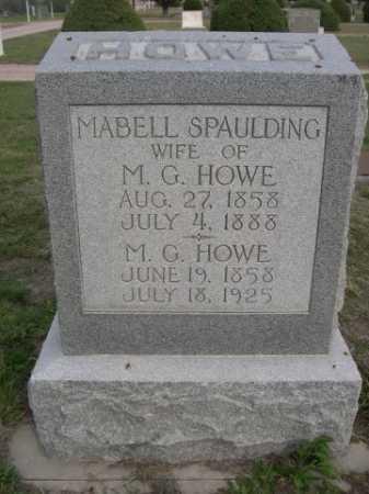 HOWE, MABELL - Dawes County, Nebraska | MABELL HOWE - Nebraska Gravestone Photos