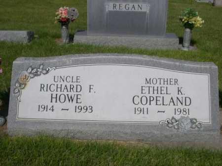 COPELAND, ETHEL K. - Dawes County, Nebraska | ETHEL K. COPELAND - Nebraska Gravestone Photos