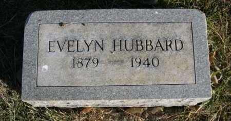 HUBBARD, EVELYN - Dawes County, Nebraska | EVELYN HUBBARD - Nebraska Gravestone Photos
