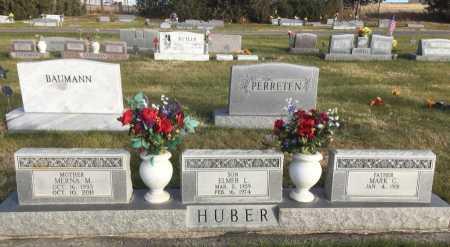 HUBER, ELMER L. - Dawes County, Nebraska | ELMER L. HUBER - Nebraska Gravestone Photos