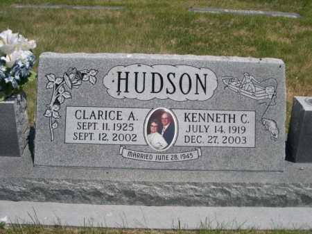 HUDSON, CLARICE A. - Dawes County, Nebraska   CLARICE A. HUDSON - Nebraska Gravestone Photos