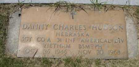 HUDSON, DANNY CHARLES - Dawes County, Nebraska | DANNY CHARLES HUDSON - Nebraska Gravestone Photos