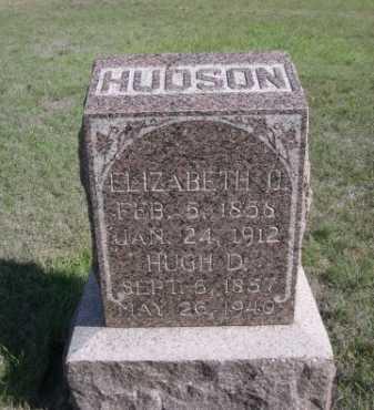 HUDSON, HUGH D. - Dawes County, Nebraska | HUGH D. HUDSON - Nebraska Gravestone Photos