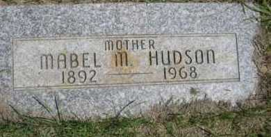 HUDSON, MABEL M. - Dawes County, Nebraska | MABEL M. HUDSON - Nebraska Gravestone Photos
