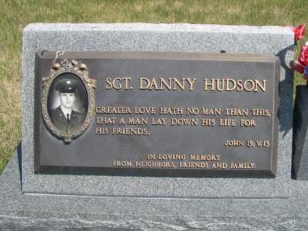 HUDSON, SGT. DANNY - Dawes County, Nebraska   SGT. DANNY HUDSON - Nebraska Gravestone Photos