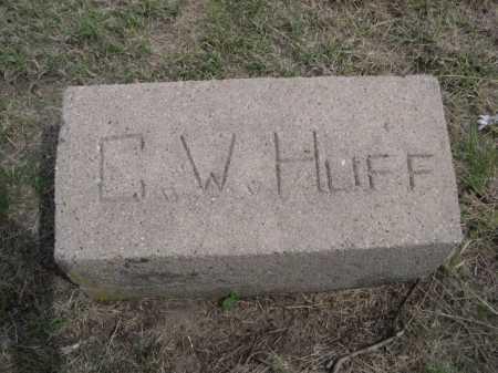 HUFF, C. W. - Dawes County, Nebraska | C. W. HUFF - Nebraska Gravestone Photos