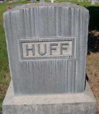 HUFF, FAMILY - Dawes County, Nebraska   FAMILY HUFF - Nebraska Gravestone Photos
