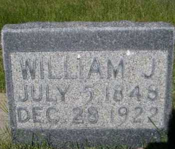 HUFF, WILLIAM J. - Dawes County, Nebraska | WILLIAM J. HUFF - Nebraska Gravestone Photos
