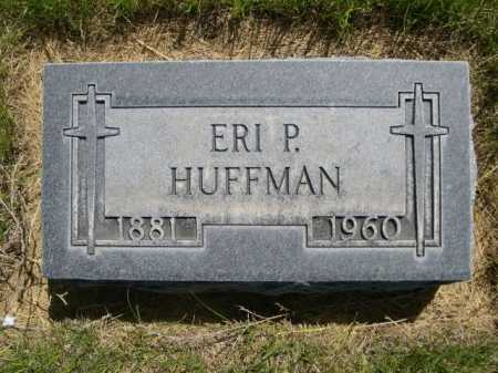 HUFFMAN, ERI P. - Dawes County, Nebraska   ERI P. HUFFMAN - Nebraska Gravestone Photos