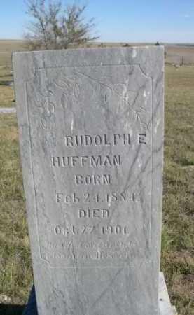 HUFFMAN, RUDOLPH E. - Dawes County, Nebraska | RUDOLPH E. HUFFMAN - Nebraska Gravestone Photos