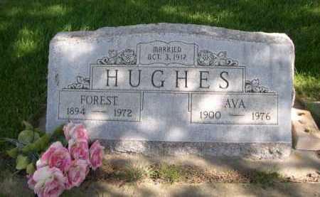 HUGHES, FOREST - Dawes County, Nebraska | FOREST HUGHES - Nebraska Gravestone Photos