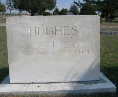 HUGHES, JAMES A. - Dawes County, Nebraska | JAMES A. HUGHES - Nebraska Gravestone Photos