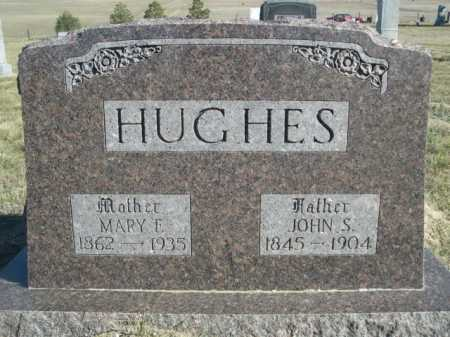HUGHES, MARY E. - Dawes County, Nebraska | MARY E. HUGHES - Nebraska Gravestone Photos