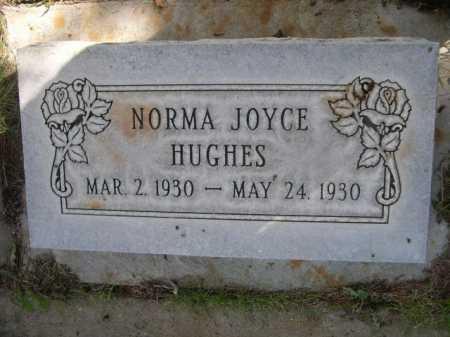 HUGHES, NORMA JOYCE - Dawes County, Nebraska   NORMA JOYCE HUGHES - Nebraska Gravestone Photos