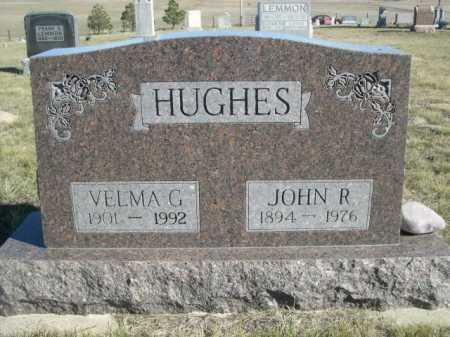 HUGHES, VELMA G. - Dawes County, Nebraska | VELMA G. HUGHES - Nebraska Gravestone Photos