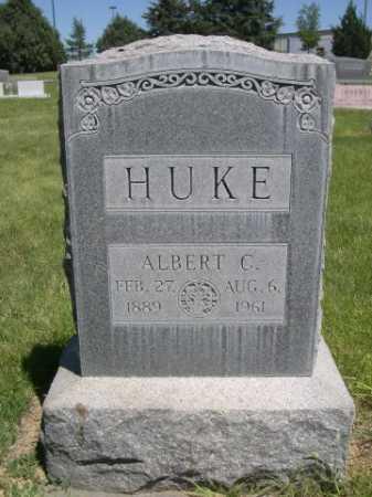 HUKE, ALBERT C. - Dawes County, Nebraska | ALBERT C. HUKE - Nebraska Gravestone Photos