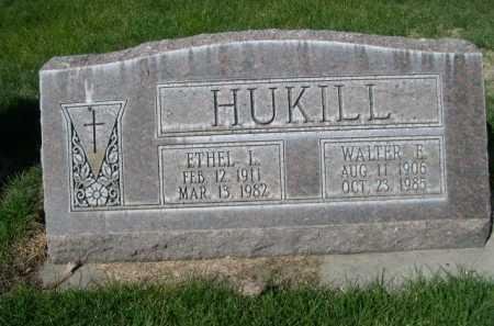 HUKILL, WALTER E. - Dawes County, Nebraska | WALTER E. HUKILL - Nebraska Gravestone Photos
