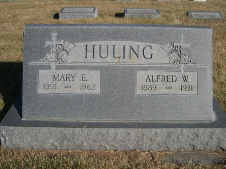 HULING, MARY E. - Dawes County, Nebraska | MARY E. HULING - Nebraska Gravestone Photos