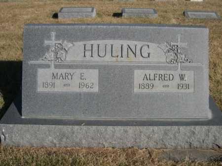 HULING, ALFRED W. - Dawes County, Nebraska | ALFRED W. HULING - Nebraska Gravestone Photos