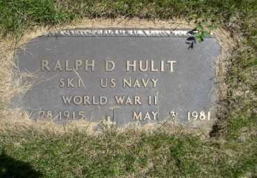 HULIT, RALPH D. - Dawes County, Nebraska | RALPH D. HULIT - Nebraska Gravestone Photos